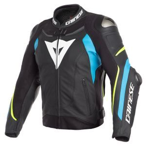Dainese Super Speed 3 Black Fire Blue Fluo Yellow
