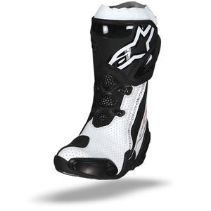Alpinestars Supertech R Vented Black White