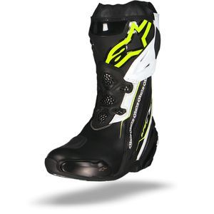Alpinestars Supertech R Black Yellow Fluo White