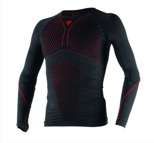 Dainese D-Core Thermo Tee LS Black Red