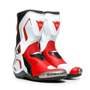 Dainese Torque 3 Out Black White Lava Red