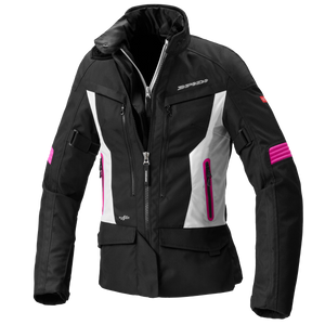 Spidi Voyager 4 Lady Black Fuchsia