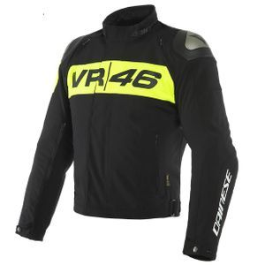 Dainese VR46 Podium D-Dry Black Yellow Fluo
