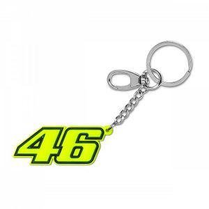 Vr46 Classic #46 Fluo Yellow Key Ring