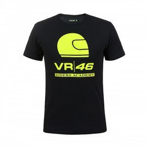 VR46 Riders Academy Corporate Schwarz