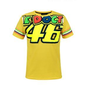 VR46 Classic Stripes Yellow
