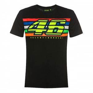 VR46 Stripes 2019 Black