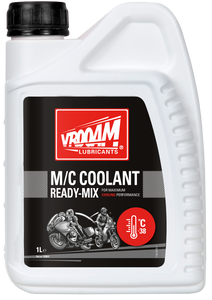 VROOAM M/C COOLANT READY-MIX 1 L
