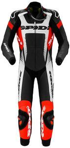 Spidi Warrior Wind Pro Black Red 1 PC Racing