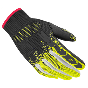 Spidi X-Knit Black Yellow Fluo Motorcycle Gloves
