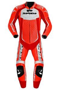 Spidi Track Wind Replica Red White
