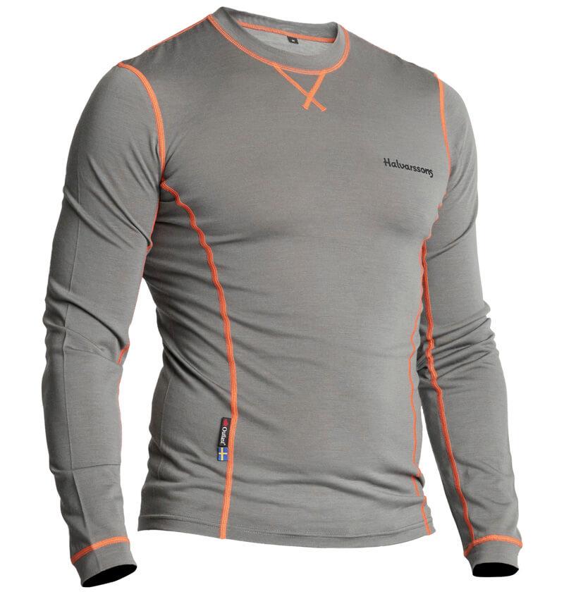 Halvarssons Light Sweater Wool Grey XS
