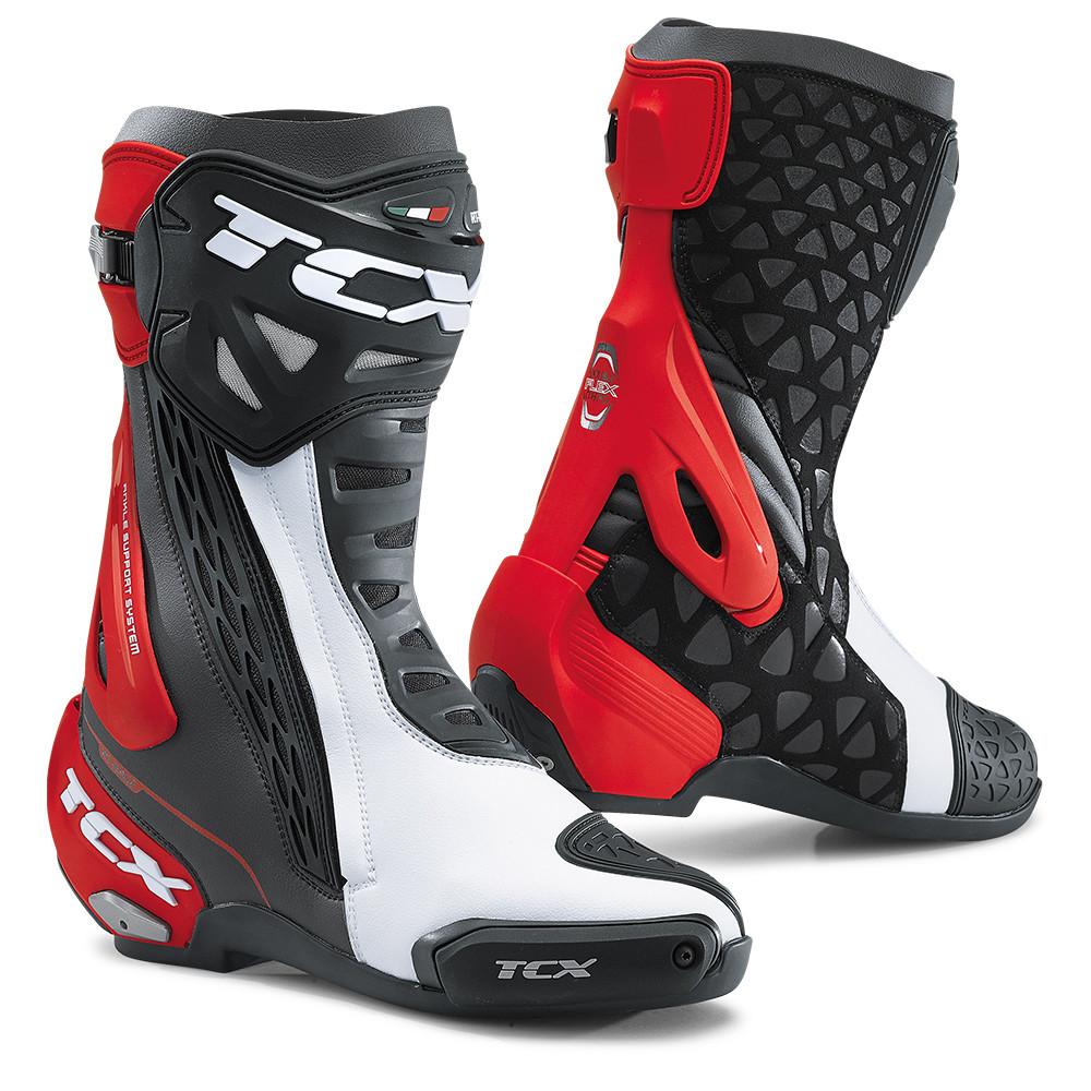 TCX Rt-Race Black White Red 41