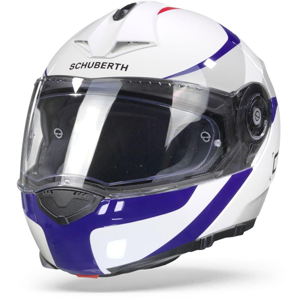 Schuberth C3 Pro Sestante White Blue S