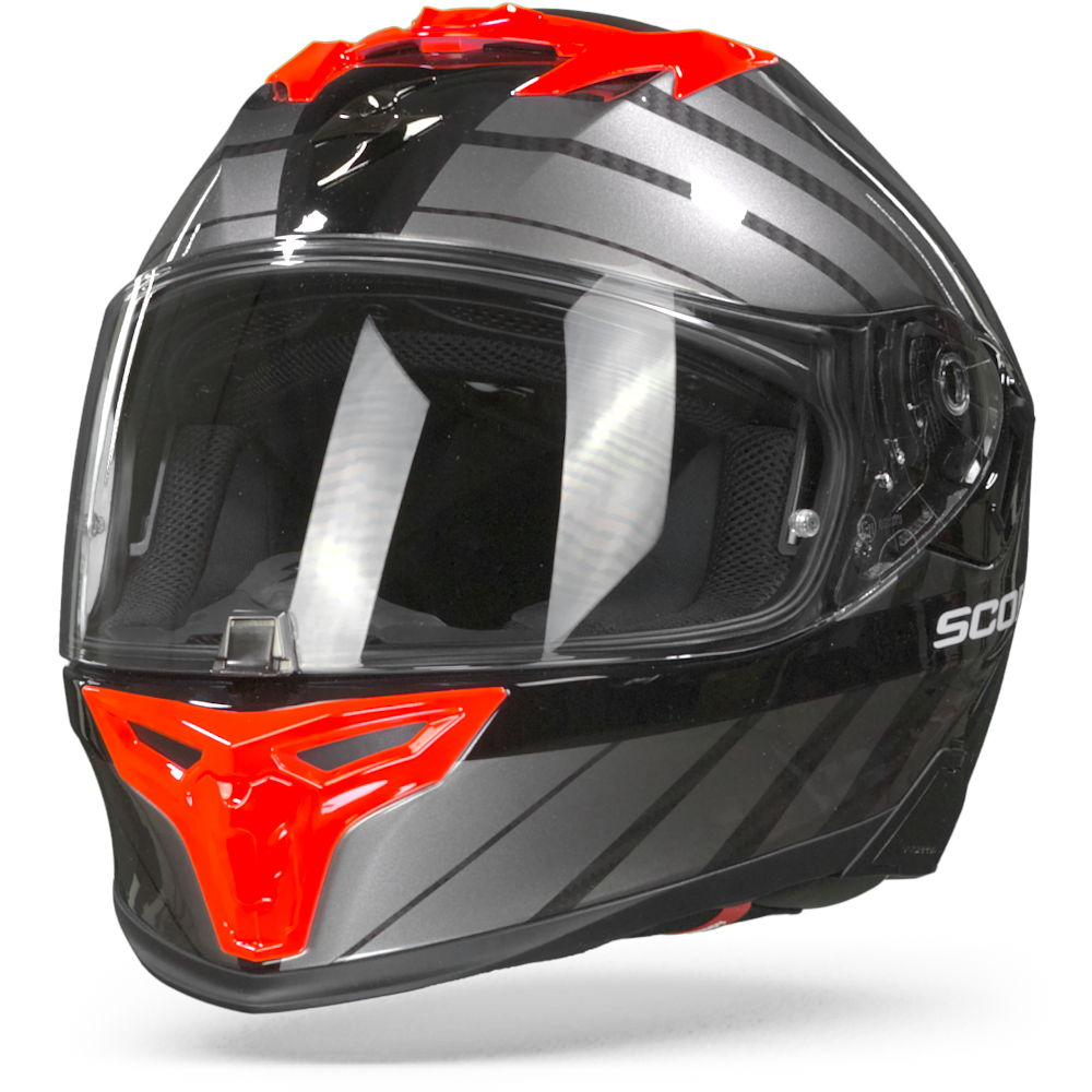 Scorpion EXO-520 Air Shade Black Red 2XL