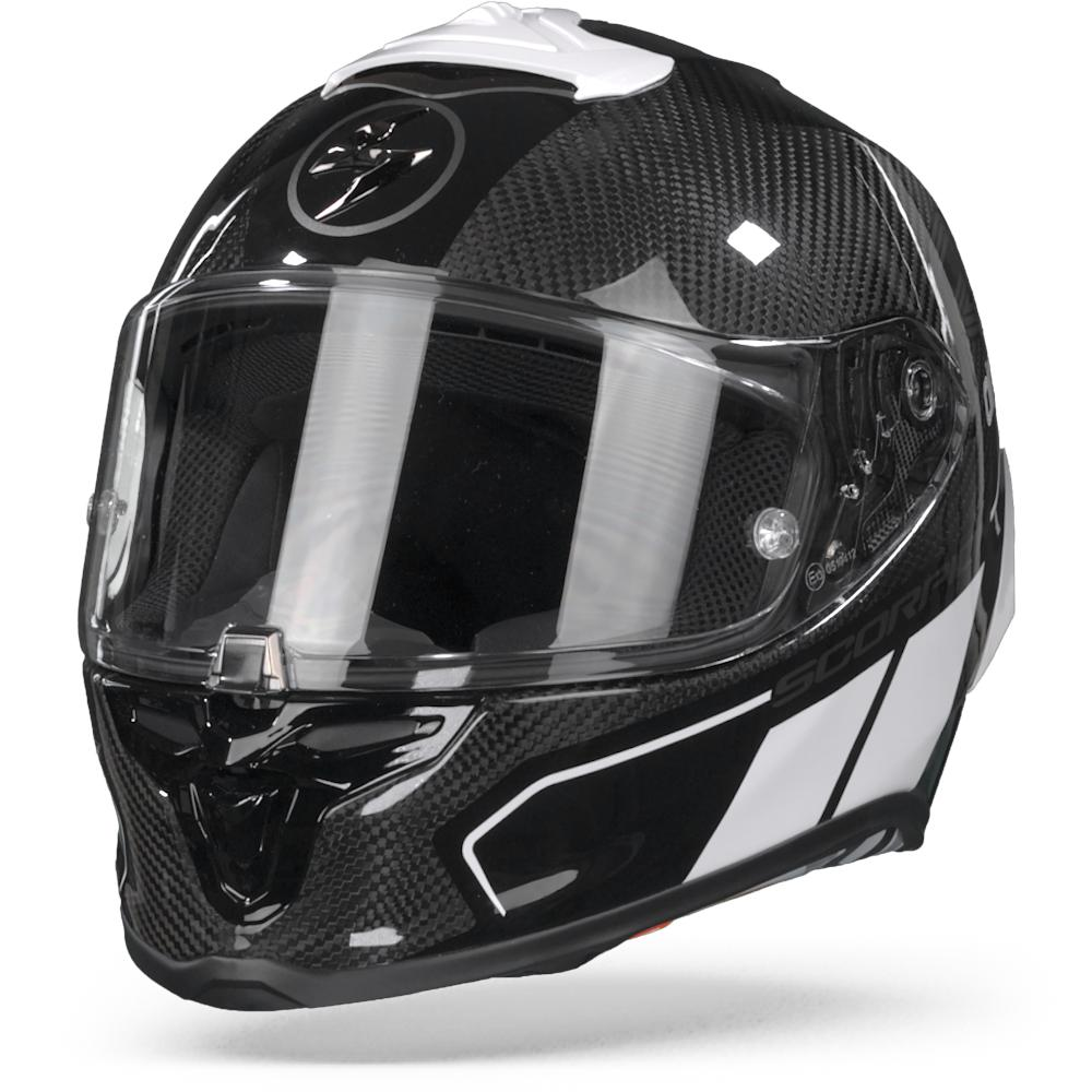 Scorpion EXO-R1 Carbon Corpus II Black White S