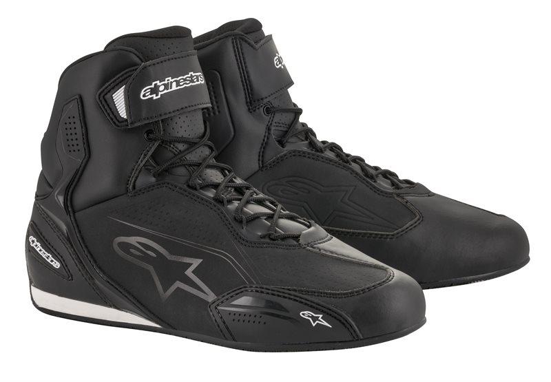 Alpinestars Faster-3 Chaussures De Moto Noir Noir US 12