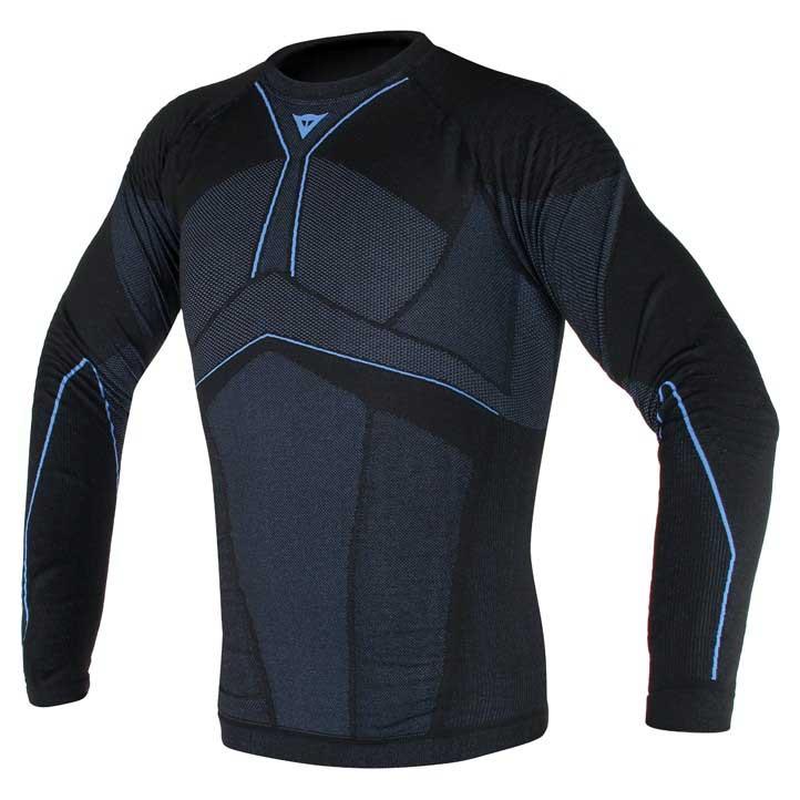 Dainese D-Core Aero LS Black Cobalt Blue
