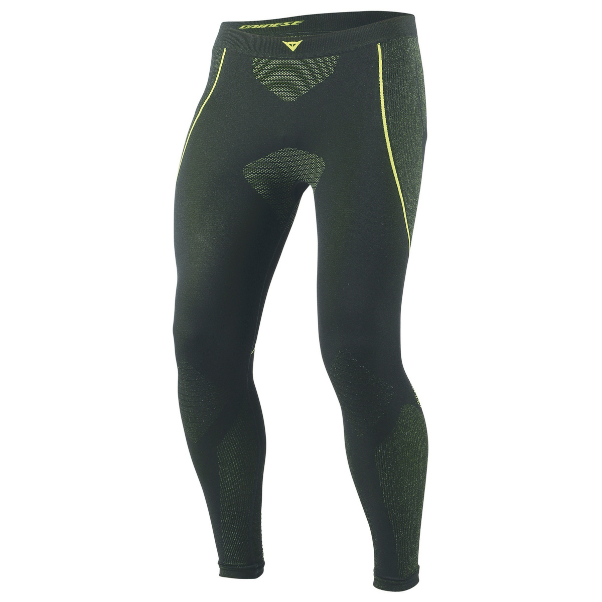 Dainese D-Core Dry Pant LL Black Fluo Yellow XS-S