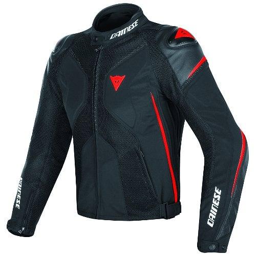 Dainese Super Rider D-Dry Veste Noir Noir Rouge Fluo 50