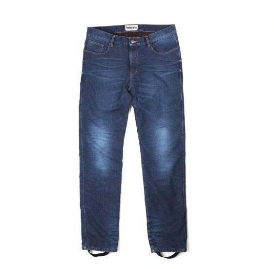 Helstons Corden Jean De Moto Stone Bleu 36