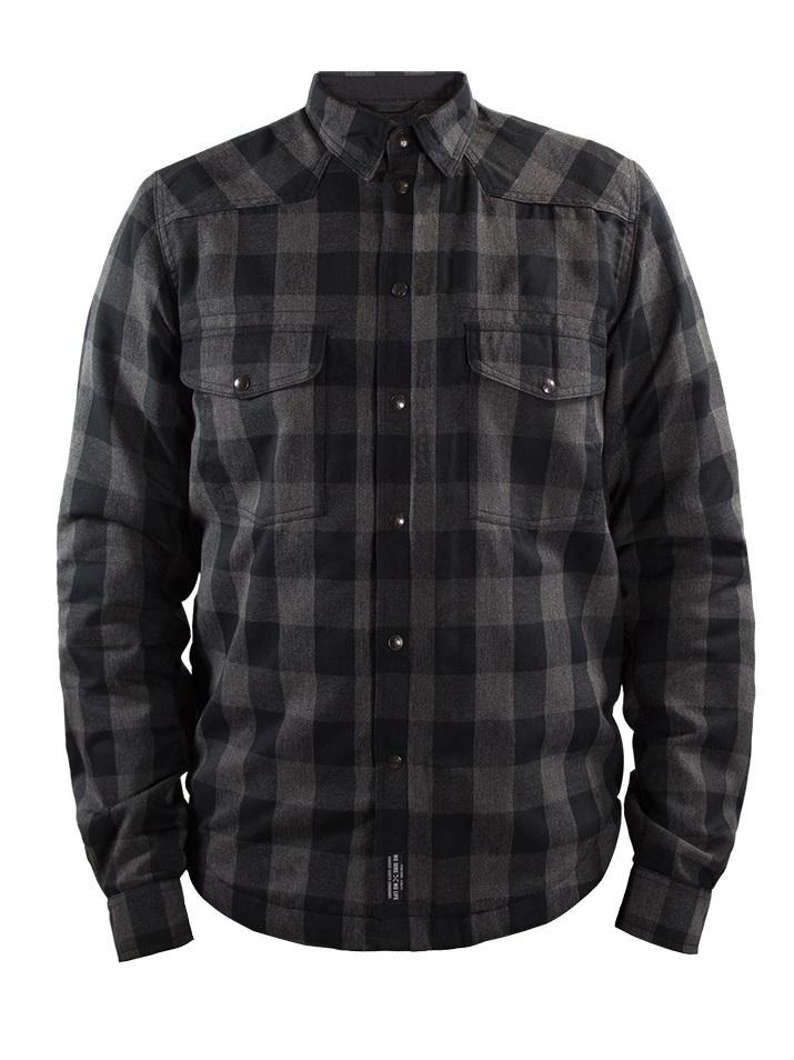 John Doe Motoshirt Grey Black XTM L