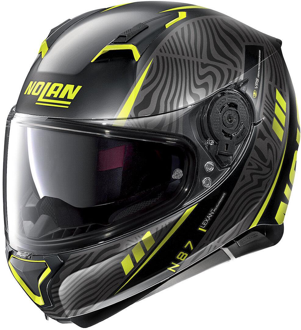 Nolan N87 Sioux N-Com 106 Black Yellow 2XL