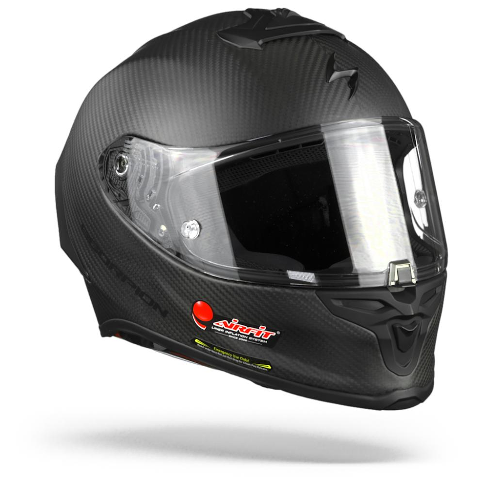 Scorpion EXO-R1 Carbon Air Solid Matt Schwarz XL