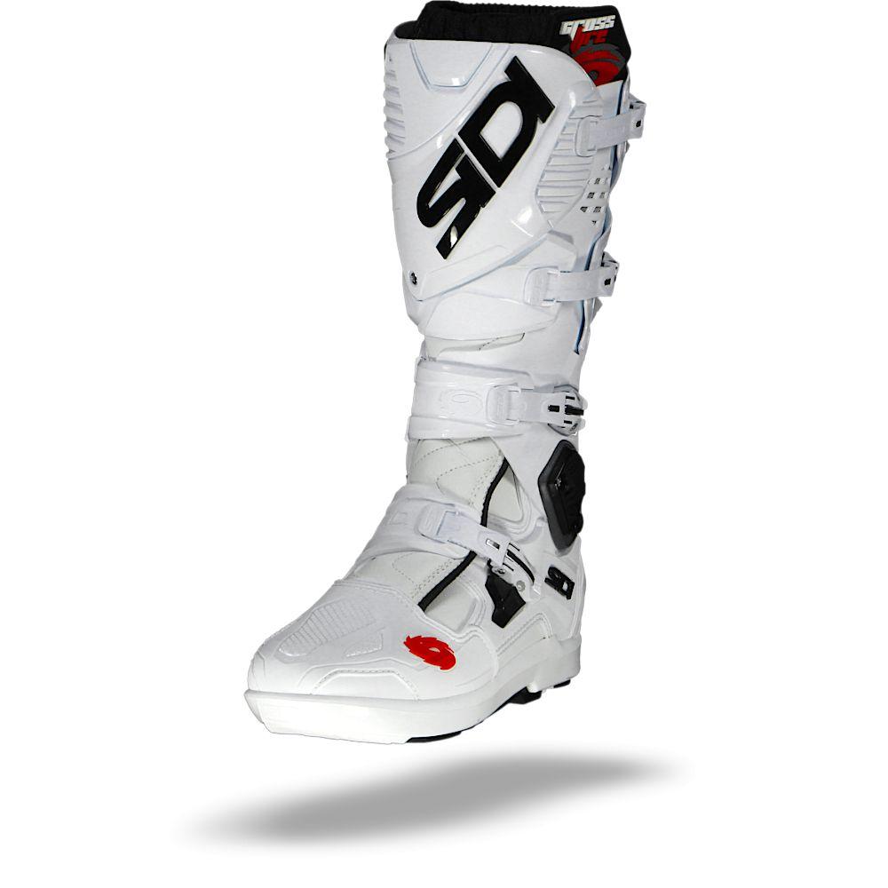 Sidi Crossfire 3 SRS Bottes Blanc Blanc 46