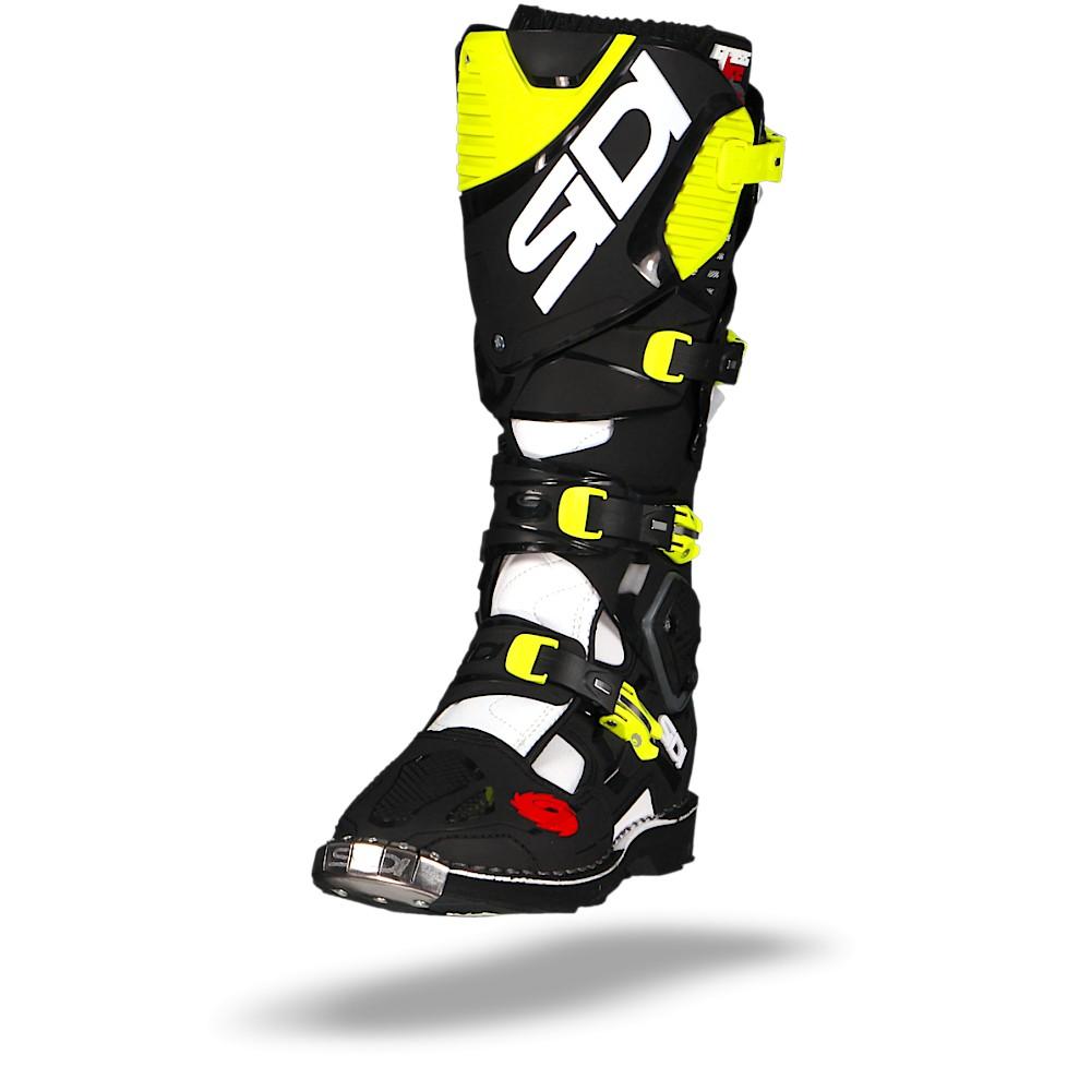 Sidi Crossfire 3 White Black Yellow Fluo  41