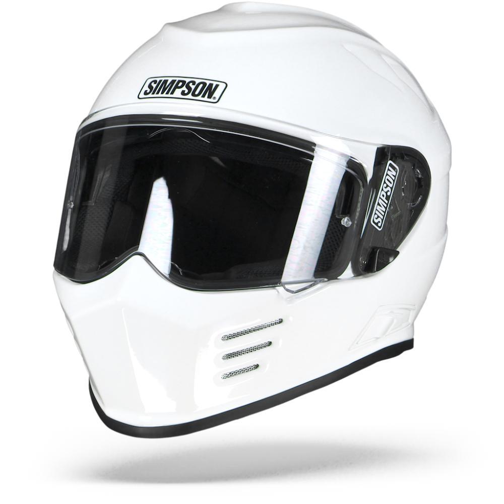 Simpson Venom Solid White XL